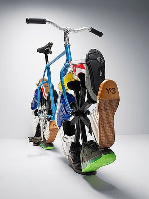 Recycle Upcycle Sneaker Bicycle
