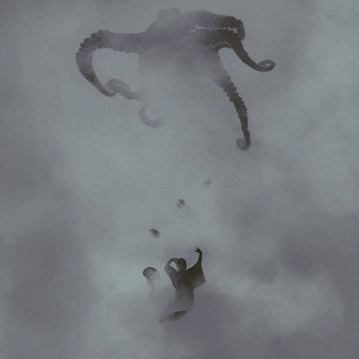 Stunning Surreal Photography Manipulation – Pulkit Kamal – Surreal Fog Octopus