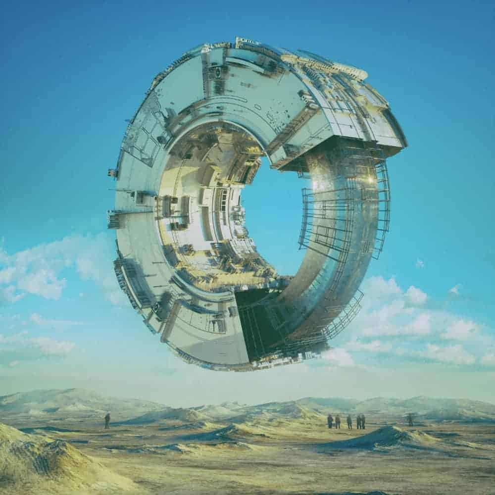 3D C4D | The Imaginative Futuristic and Surreal Worlds of Mike Winkelmann (Beeple)