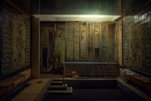 Miniature Model Photography | Dark Little Middle Eastern Room | Shot with the Leica L9 – A ...