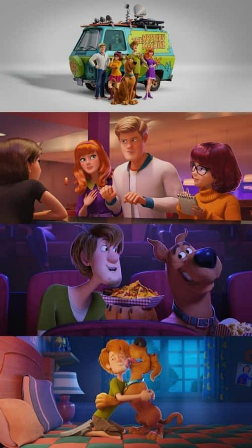 First images from the new 3D animated Scooby-Doo film 'SCOOB!'