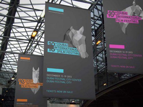 Typography | Integrated Type — Dubai International Film Festival