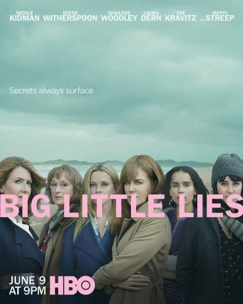 HBO Big Little Lies Season 2 Key Art Poster