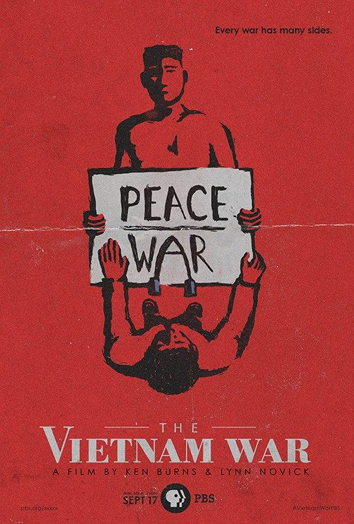Illustrated Key Art by Jason Burnam – The Vietnam War – Peace / War – Every Wa ...