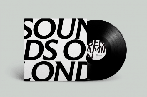 Typography | Integrated Type — Sounds of London, Record Cover