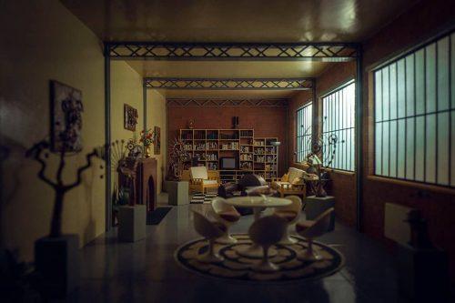 Miniature Model Photography   Dark Little Modern Loft Apartment   Shot with the Leica L9 – ...