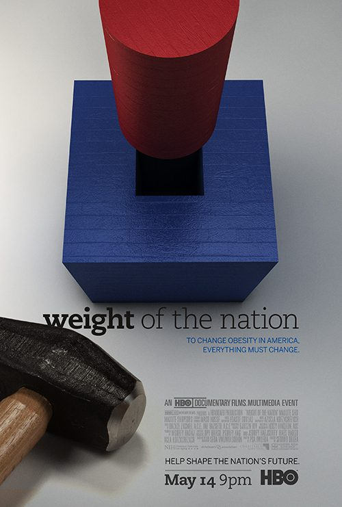 Key Art by Jason Burnam – HBO Weight of the Nation