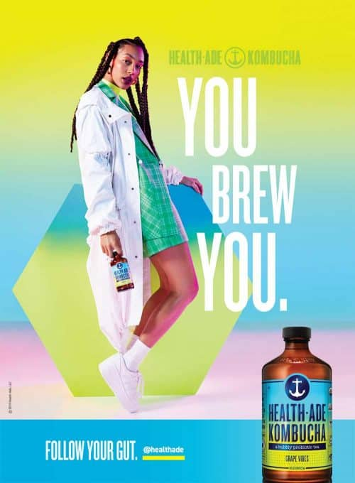 Photography – Health Ade Kombucha Summer 2019 Vibrant and Colorful Campaign – You Br ...