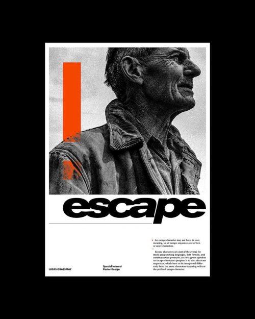 Escape Poster Design – Lucas Grassmay