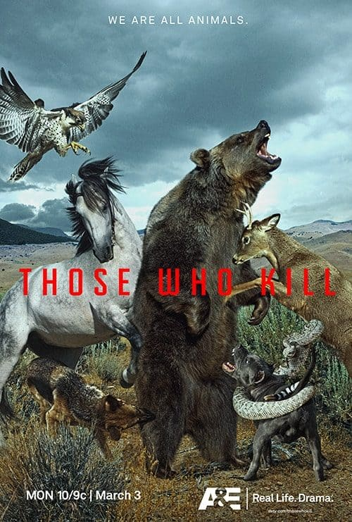 Key Art by Jason Burnam – Those Who Kill – We Are All Animals