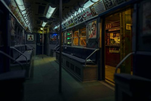 Miniature Model Photography   Dark Little Subway Car   Shot with the Leica L9 – Adobe Came ...