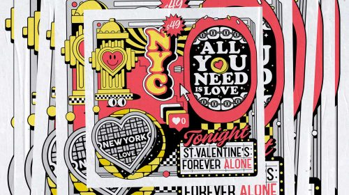 Illustrations by Alejandro Parrilla – 49 Vault – All You Need Is Love Valentines Day