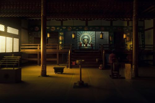 Miniature Model Photography | Dark Little Buddhist Temple | Shot with the Leica L9 – Adobe ...