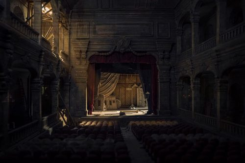 Miniature Model Photography | Dark Little Abandoned Opera House | Shot with the Leica L9 – ...