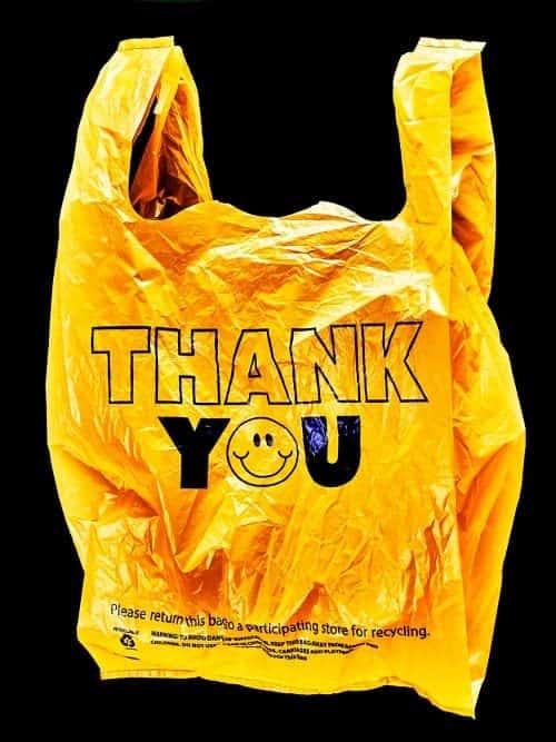 Thank You Plastic Bag Design