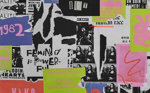 Rebelle Rebelle – Rock and Roll – Grunge Poster Design