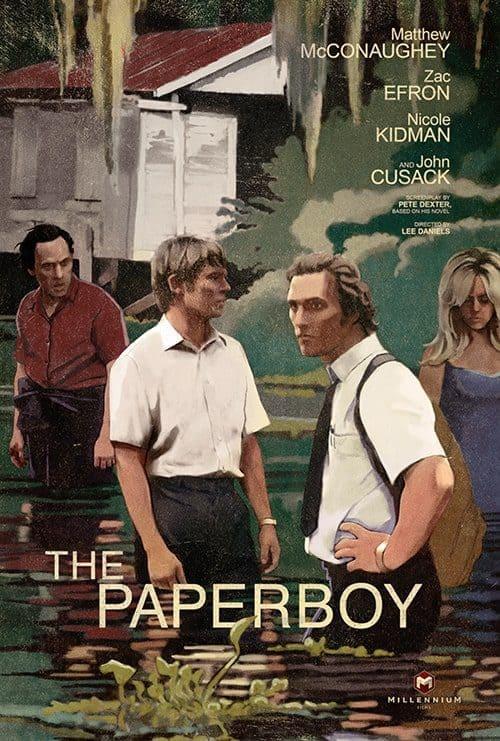 Illustrated Key Art by Jason Burnam – The Paperboy