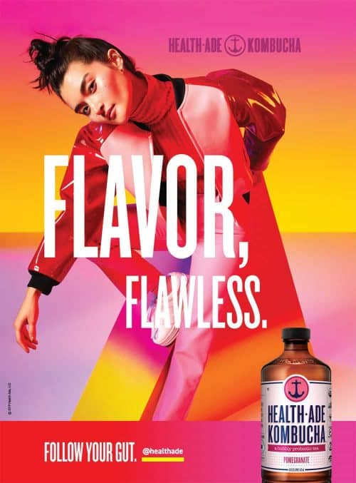 Photography – Health Ade Kombucha Summer 2019 Vibrant and Colorful Campaign – Flavor ...