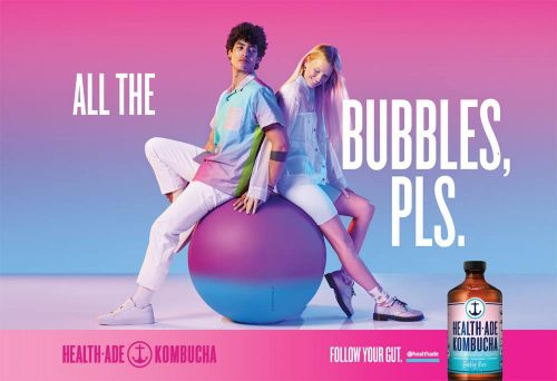 Photography – Health Ade Kombucha Summer 2019 Vibrant and Colorful Campaign – All Th ...
