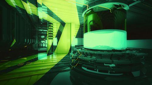 3D Digital Illustrations – Futuristic Engineering Design City