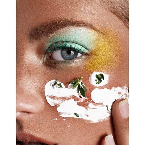 Female Food Photography – Green Beauty