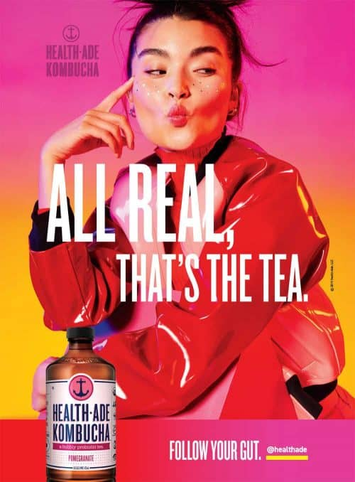 Photography – Health Ade Kombucha Summer 2019 Vibrant and Colorful Campaign – All Re ...