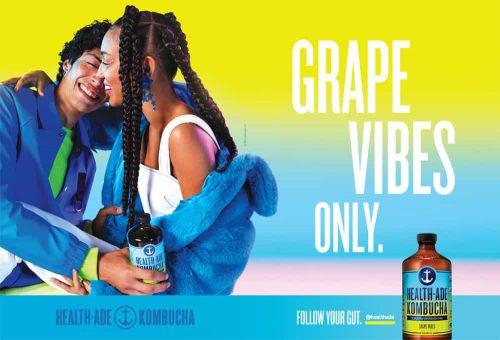 Photography – Health Ade Kombucha Summer 2019 Vibrant and Colorful Campaign – Grape  ...