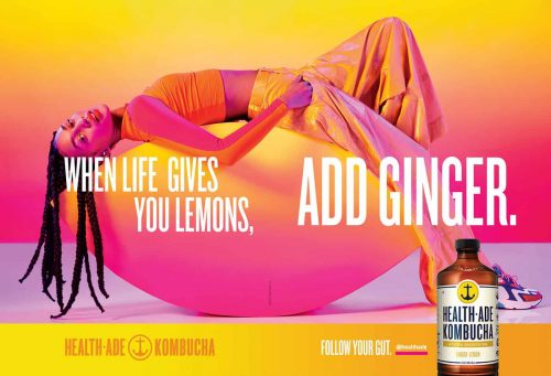 Photography – Health Ade Kombucha Summer 2019 Vibrant and Colorful Campaign – When L ...