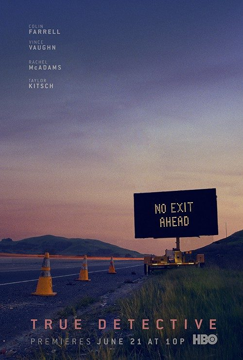 Key Art by Jason Burnam – True Detective – No Exit Ahead