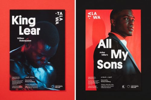 Typography | Integrated Type — TALAWA, King Lear
