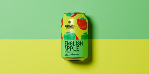 Packaging Design – Cornish Orchards by Thirst