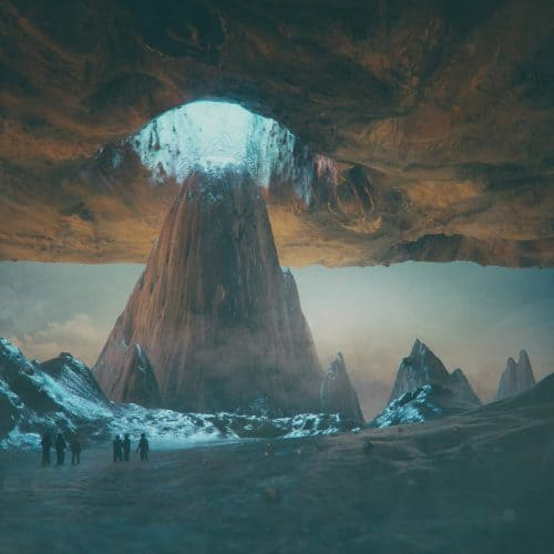 3D C4D   The Imaginative Futuristic and Surreal Worlds of Mike Winkelmann (Beeple) – Mountain