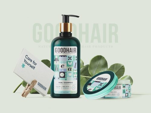 Packaging Design – Goodhair by Meroo Seth