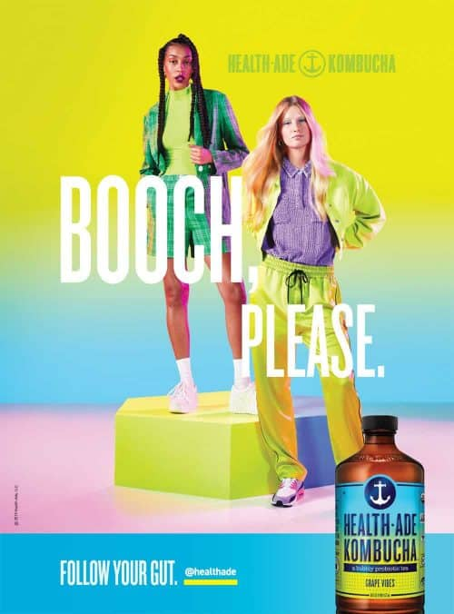 Photography – Health Ade Kombucha Summer 2019 Vibrant and Colorful Campaign – Booch  ...