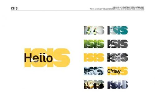 Typography | Integrated Type — Hello ISIS