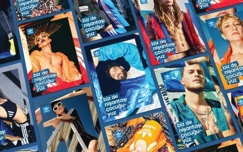 ADIDAS BAZAAAR – Trippy Graphic Poster Design Campaign