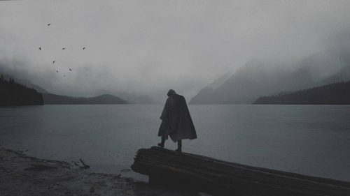 Stunning Surreal Photography Manipulation – Pulkit Kamal – Standing by the Lake