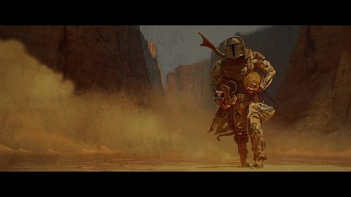 Concept Art – Disney + The Mandalorian Star Wars Series
