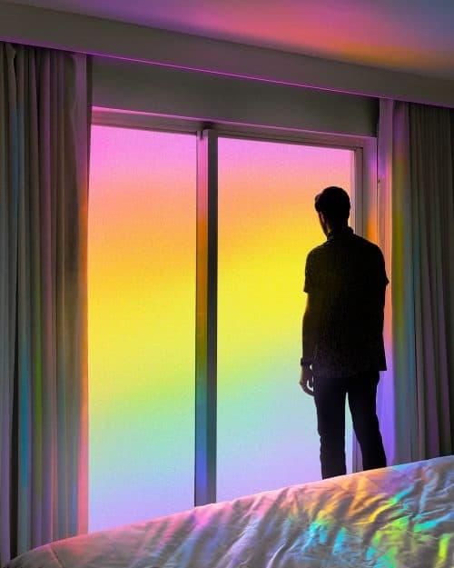 Ramzy Masri – Vibrant Rainbow Spectrum Edits – Outside