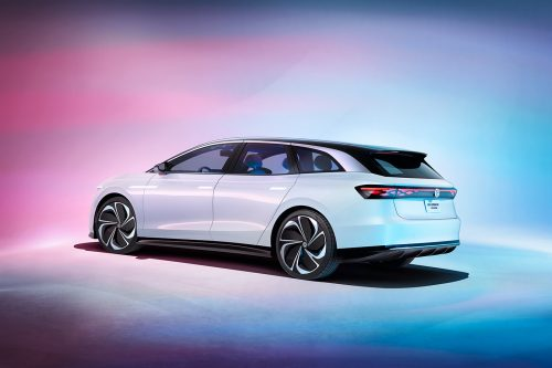 Volkswagen ID. SPACE VIZZION – Futuristic Automotive Concept Car Photography