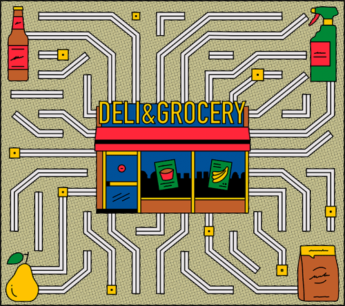 Illustrations by Albert Tercero – Deli and Grocery