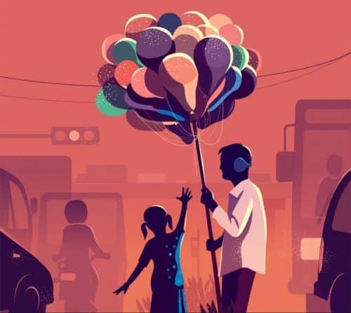 RANGANATH KRISHNAMANI – Illustrations – Bangalore, India – Balloons