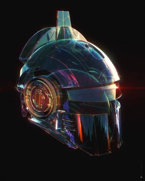 Alex Maltsev – Hot Space Gear and Weapons – 3D C4D Redshift Renderer
