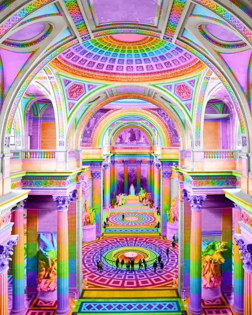 Ramzy Masri – Vibrant Rainbow Spectrum Edits – Ceiling