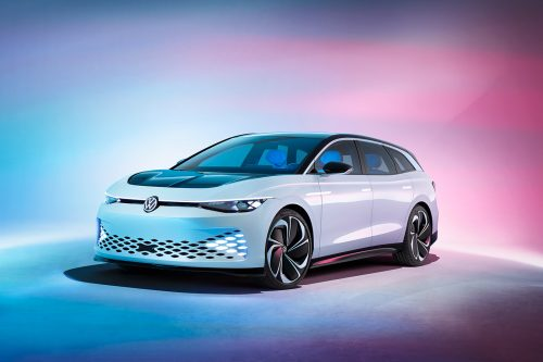 Volkswagen ID. SPACE VIZZION – Futuristic Automotive Concept Car Photography