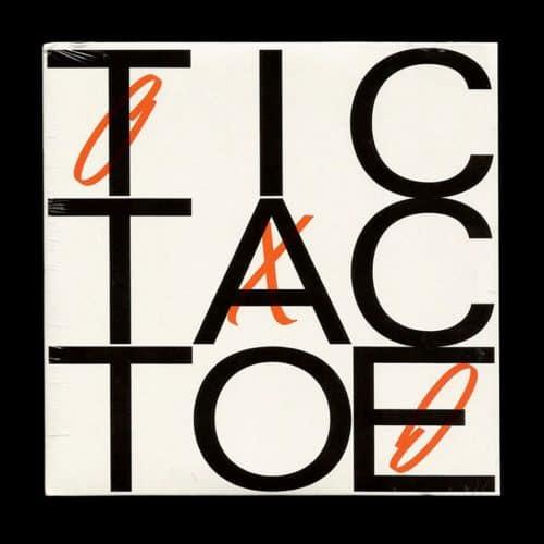 Tic Tac Toe Typographic Design