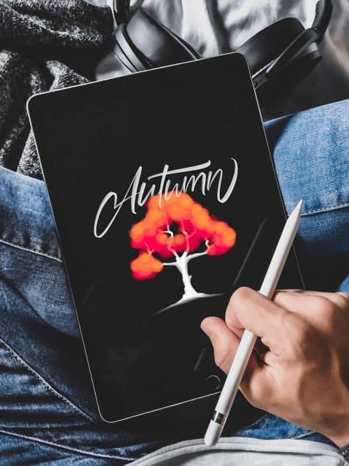 David Glissman – Handwritten Script on iPad – Autumn