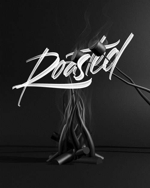 David Glissman – Handwritten Script on iPad – Roasted