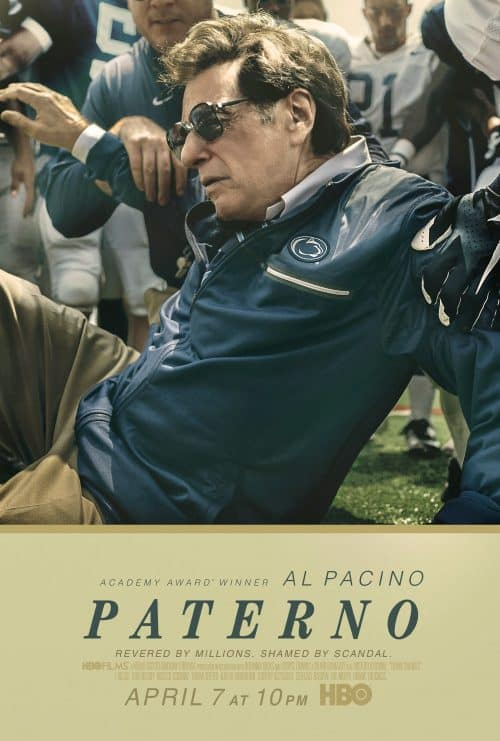 Key Art by Jason Burnam – Paterno – Football movie starring Al Pacino