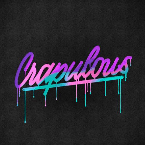 David Glissman – Handwritten Script on iPad – Crapulous – Paint Drip